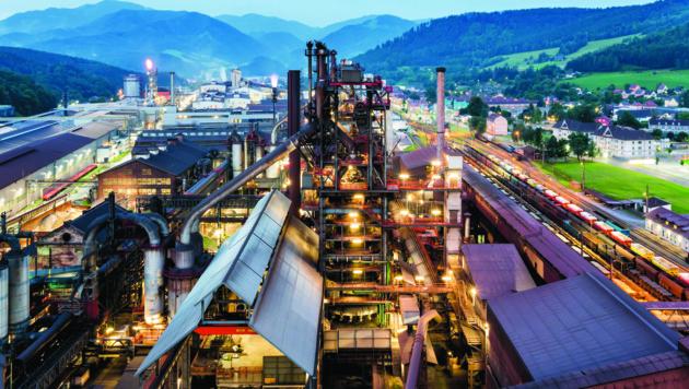 Das Voestalpine-Stahlwerk in Leoben-Donawitz (Bild: Voestalpine/Regine Schöttl)