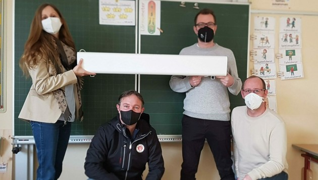 Traiskirchen: Luftreinigungsanlagen in Schulen (Bild: Stadtgemeinde Traiskirchen)
