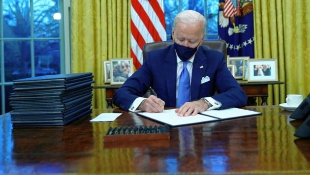 US-Präsident Joe Biden (Bild: Reuters/Tom Brenner)