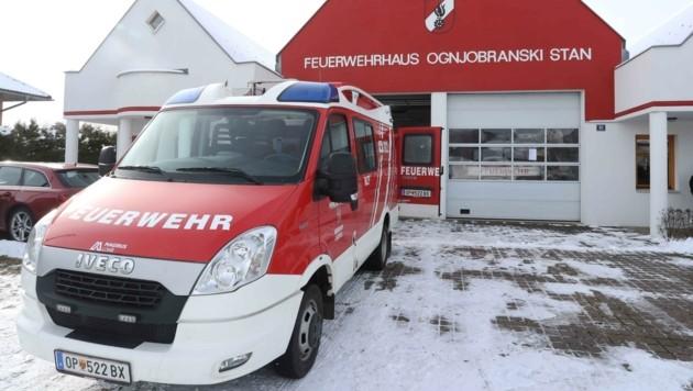 Die Hilfsbereitschaft unter den Feuerwehren kennt keine Grenzen. (Bild: Judt Reinhard)
