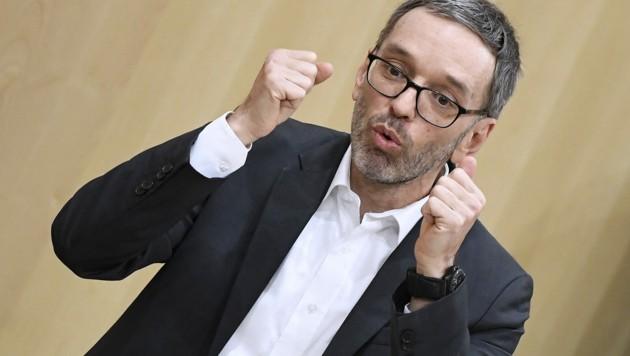 FPÖ-Klubchef Herbert Kickl (Bild: APA/ROBERT JAEGER)