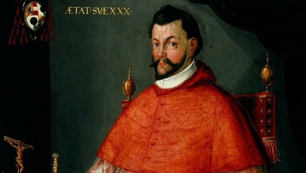 1587 im Schnellverfahren zum Salzburger Erzbischof gewählt: der damals noch kaum bekannte Wolf Dietrich von Raitenau (Bild: Stöger Max)