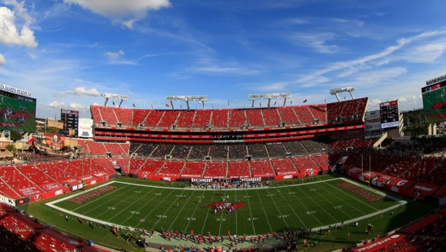 Raymond James Stadium in Tampa (Bild: APA/AFP/GETTY IMAGES/Mike Ehrmann)