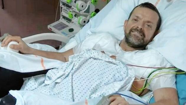 Felix Gretarsson bekam zwei Arme und Schultern transplantiert. (Bild: zVg, Kronen Zeitung)
