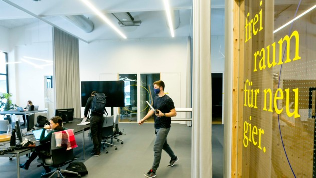 """Ein lebenswerter """"Workspace"""" für kreative Köpfe - das Startupland Vorarlberg. (Bild: Mathis Fotografie)"""
