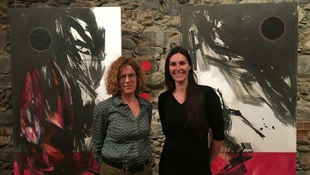 Von Larissa Tomassetti hat Elisabeth Kleinwächter (li) die Leitung der Galerie übernommen. (Bild: Perisutti Tina)