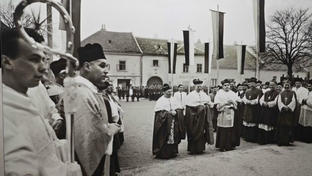 Das Fotoarchiv des Diözesanmuseums in Eisenstadt birgt historische Schätze. (Bild: Judt Reinhard)
