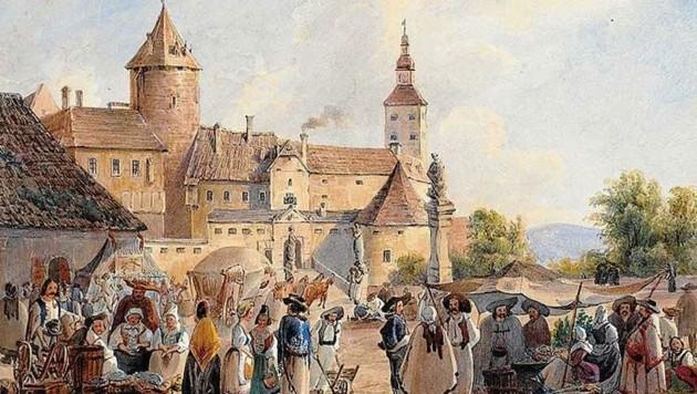 Burg Stadtschlaining wird Kulisse für die Jubiläumsschau. (Bild: Land burgenland)
