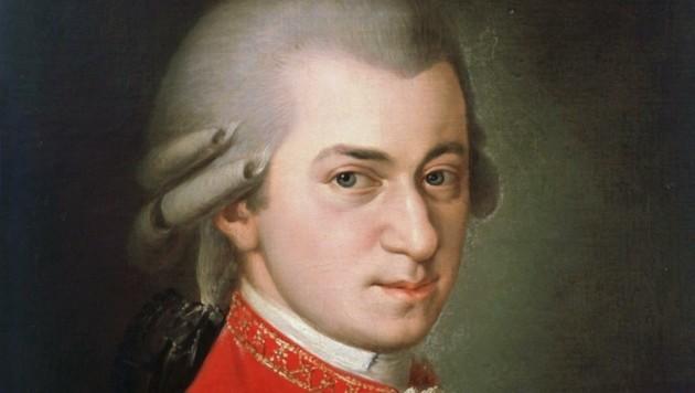 Ein noch unbekanntes Werk von Wolfgang Amadeus Mozart (Bild: Gemälde Barbara Krafft)