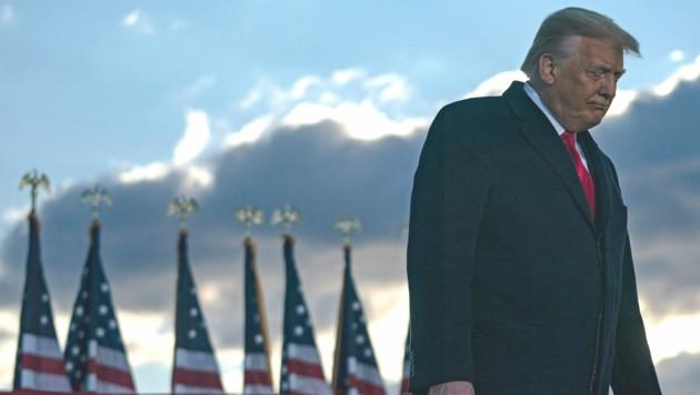 Einst beliebter Gastgeber, laufen Trump nun die Mitglieder seines Golfressorts davon. (Bild: AFP/ALEX EDELMAN)