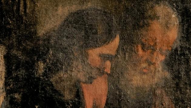 """Zahlreiche der Beutestücke sind noch verschwunden - wie die """"Zwei Evangelisten"""". (Bild: zVg)"""