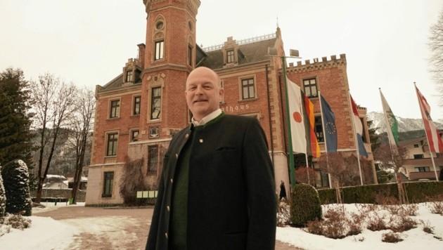 Hermann Trinker, Bürgermeister von Schladming (Bild: Sepp Pail)