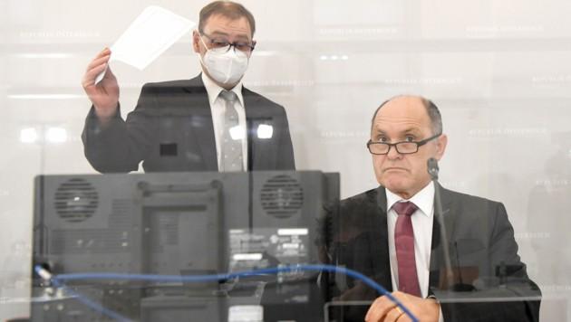 Ausschuss-Vorsitzender Wolfgang Sobotka (ÖVP) (Bild: APA/ROLAND SCHLAGER)