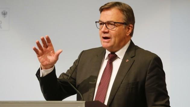 LH Günther Platter (Bild: Birbaumer Christof)