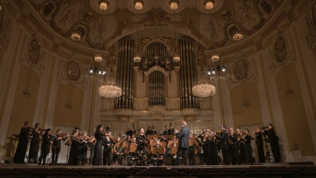 Konzertaufzeichnung im Großen Saal der Stiftung Mozarteum: Thomas Hengelbrock und das Balthasar-Neumann-Ensemble (Bild: Wolfgang Lienbacher)