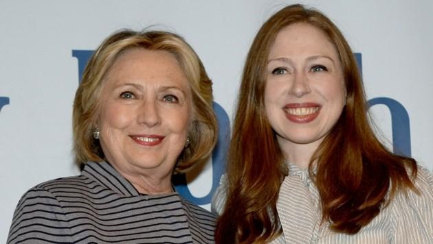 Hillary Clinton und Chelsea Clinton (Bild: Kristin Callahan / Everett Collection / picturedesk.com)