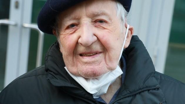 Martin Riedlinger (100) (Bild: Zwefo)