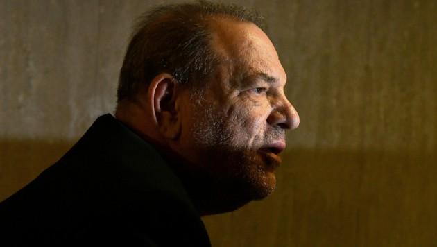 37 Frauen sollen nach dem Urteil gegen den ehemaligen Hollywood-Produzenten Harvey Weinstein finanziell entschädigt werden. (Bild: APA/AFP/Angela Weiss)