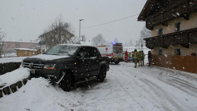 Ein Unfall ereignete sich in Münster. (Bild: Zoom.Tirol)