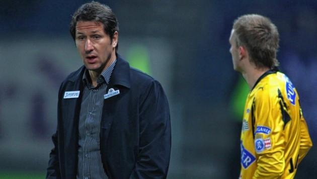 Unter Foda debütierte Jantscher (r.) 2007 in der Bundesliga. (Bild: KRONEN ZEITUNG)