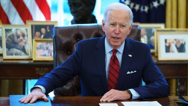 US-Präsident Joe Biden (Bild: AFP)