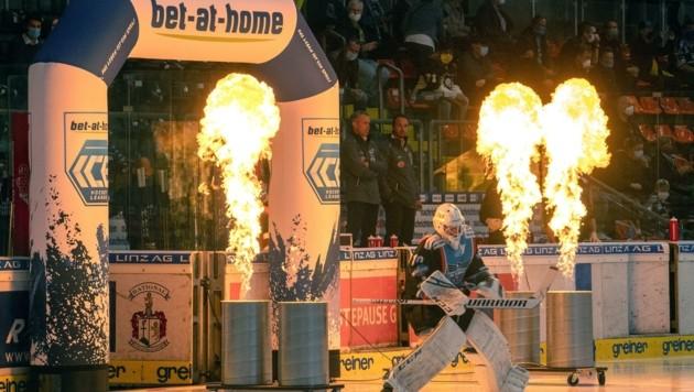 Linz und sein Eishockey-Zerwürfnis: Seit dem Frühling des Vorjahres ist hier Feuer am Dach (Bild: BWL/Reinhard Eisenbauer)