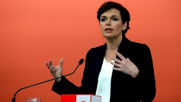 SPÖ-Vorsitzende Pamela Rendi-Wagner (Bild: APA/Herbert Pfarrhofer)