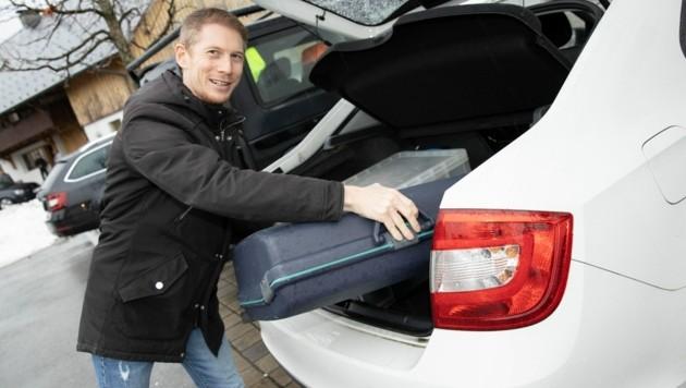 Nach nur zehn Spielen muss Roman Ellensohn beim FAC schon wieder seine Koffer packen. (Bild: Maurice Shourot)