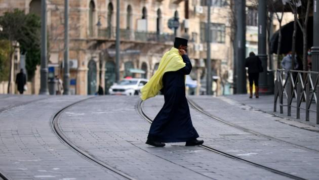 Die Menschen in Israel dürfen sich derzeit nur in Ausnahmefällen mehr als 1000 Meter von ihrem Wohnort entfernen. (Bild: AFP/Emmanuel Dunand)