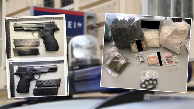 Die Dealer verkauften Drogen an rund 160 Abnehmer. (Bild: KRONEN ZEITUNG/Polizei Salzburg)