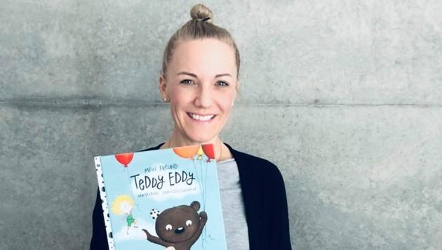 """Eine Erfolgsstory: Ingrid Hofers """"Teddy Eddy"""" erscheint nun bei Österreichs größtem Kinderbuchverlag. (Bild: zvg/Hofer)"""