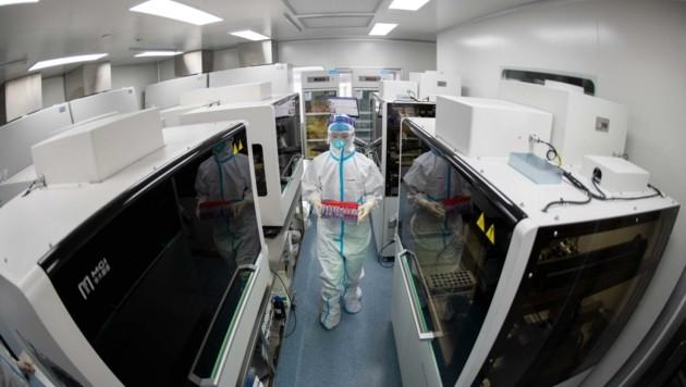 Hunderte Proben aus Niederösterreich werden derzeit auf diverse Virusvarianten untersucht (Bild: Top Photo)