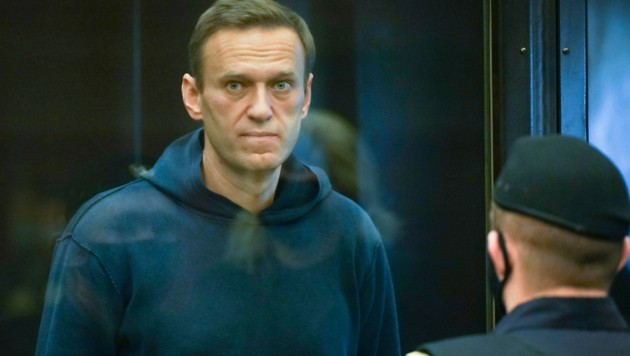 Nawalny entging im August nur knapp einem Giftanschlag. (Bild: AP)