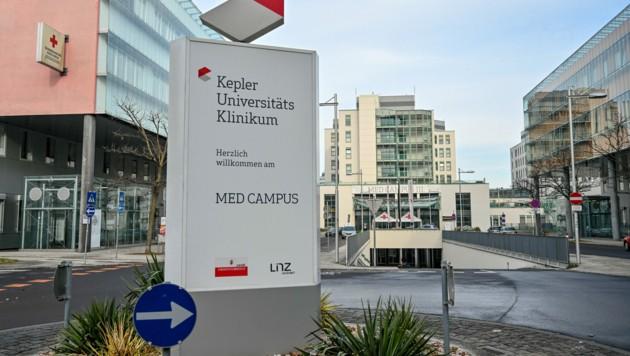 Med Campus III im Kepler Universitätsklinikum Linz (Bild: © Harald Dostal)