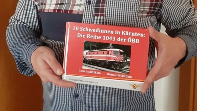 """""""Zehn Schwedinnen in Kärnten"""" heißt das Buch das Dietmar Tschudnig und David Lackner verfasst haben. (Bild: Dietmar Tschudnig)"""