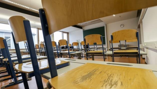 Fast alle Schulen bleiben in den Semesterferien leer. Nur zwölf bieten Förderunterricht an. (Bild: Tschepp Markus)