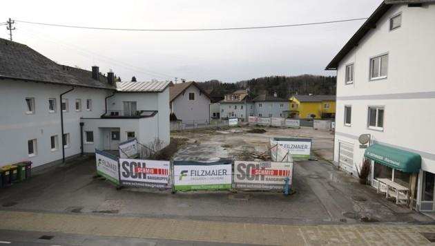 Der Baugrund mitten im Ort (Bild: Wenzel Gerhard)