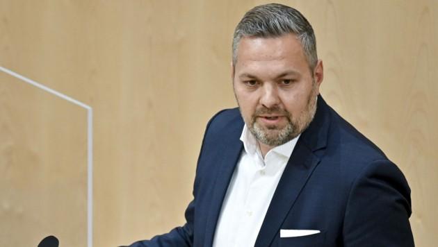 "ÖVP-Generalsekretär Alexander ""Axel"" Melchior (Bild: APA/Herbert Neubauer)"
