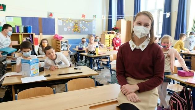In Volksschulen startet nach den Ferien Normalbetrieb (Bild: Einöder Horst)