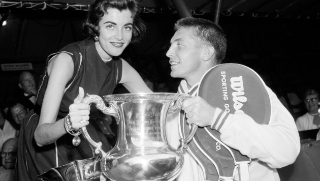 Tony Trabert mit seiner Frau Shauna. (Bild: AP)