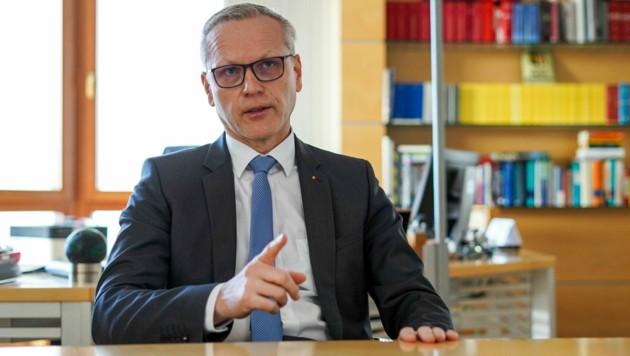 Seit Jänner Generaldirektor: Othmar Nagl. (Bild: Markus Wenzel)