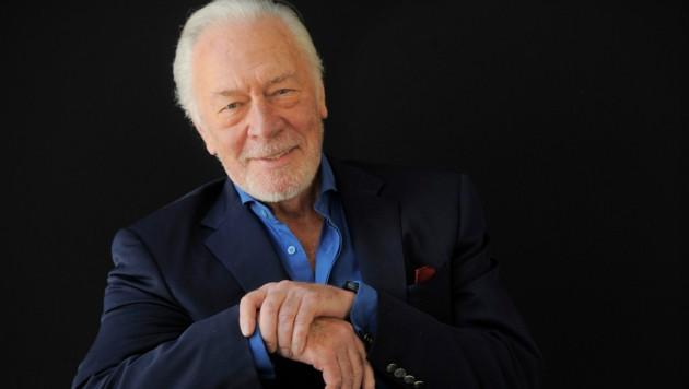 Der kanadische Schauspieler Christopher Plummer ist im Alter von 91 Jahren verstorben. (Bild: Chris Pizzello/Invision/AP)