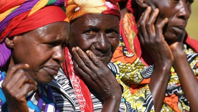 Frauen in Gitega (Burundi) (Bild: APA/HELMUT FOHRINGER (Symbolbild))