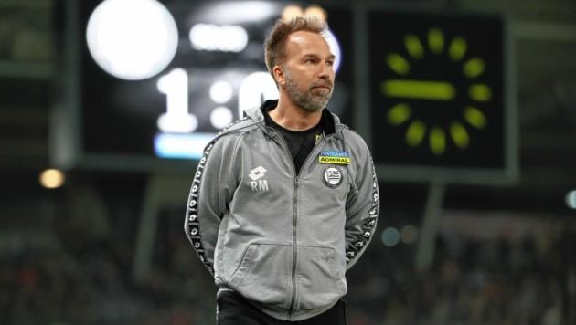 Roman Mählich hängt seine Trainerkarriere an den Nagel. (Bild: Sepp Pail)