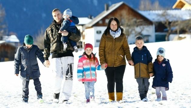 Die Familie zieht bald in eine größere Wohnung. (Bild: Gerhard Schiel)