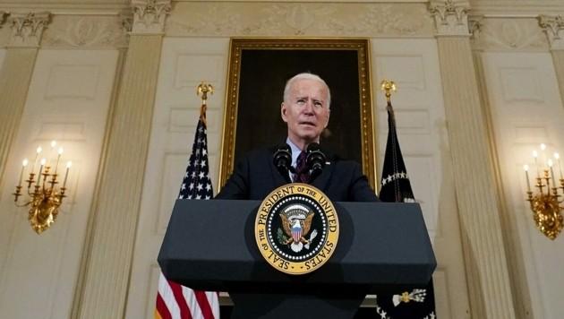 US-Präsident Joe Biden will außenpolitisch aktiv werden. (Bild: AP)
