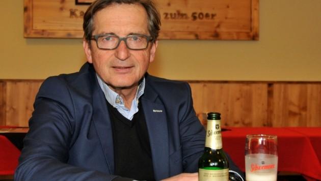 Ein Waldviertler Original: Karl Trojan von der Schremser Brauerei (Bild: René Denk)