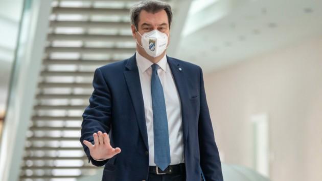 Der bayrische Ministerpräsident Markus Söder (Bild: AFP)