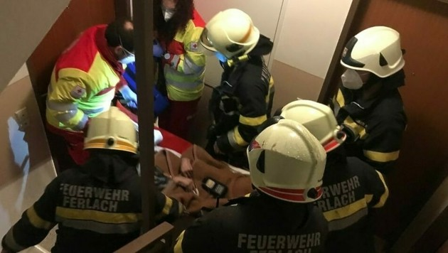 (Bild: Feuerwehr Ferlach )