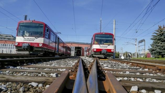 Heuer soll der zweigleisige Ausbau der Lokalbahn starten (Bild: Tschepp Markus)